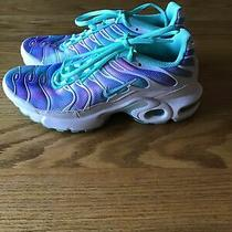 Girls Nike Air Tn Sneakers Size 5.5y Photo