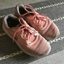 Girls Nike Pink Rose Gold Sneakers Size 4 4y Photo