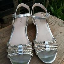 Girls Nine West Gabby Style Sandals Size 4.5 Photo