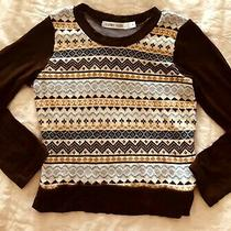 Girls Nordic Sweater Top Size 6 Sister Sam Photo