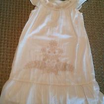 Girls Old Navy White  Dress Size 14 Photo