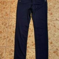 Girls Pants Hudson Size 10 Adjustable Waist Blue/brown Price for One Good Cond Photo