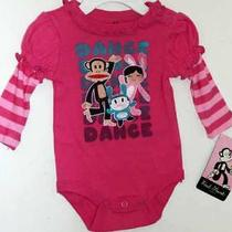 Girls Paul Frank Luxe Romper Body Suit Nwt 0-3m 28 Photo