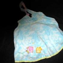 Girls Picture Me 18 Mo Aqua Tie Dye Dress Fish Photo