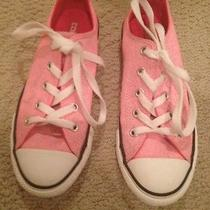 Girls Pink Converse Size 1 Us Photo