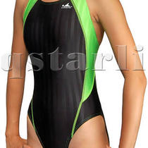 Girls Racing Splice Aqua-Blade Swimwear Xs 26 Girls 8 Photo
