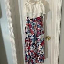 Girls Rare Editions Size 10 White Floral Dress Spring Summer New With Tags 75 Photo