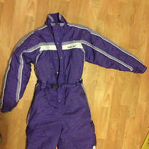 Girls Reebok Purple Snowsuit Photo