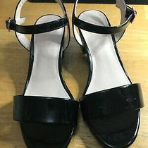 Girls Ruby & Bloom Black Fancy Sandals Size 1 Photo