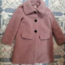 Girls Ruby & Bloom Nordstrom Blush Faux Fur Jacket Size 6 Photo