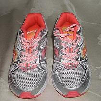 Girls Saucony Cohesion 6 Multicolor Laced Mesh Sneakers Sz 13.5m Photo