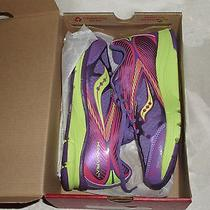 Girls Saucony Kinvara Multicolor Laced Sneakers Sz 3.5m Photo