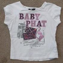Girls Shirt - Baby Phat - White - Size 4 Photo