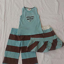 Girls Shirt Skirt Pant Outfit Size 5 Photo