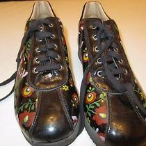 Girls Shoes Leather Sneakers Moschino Made in Italy Us Size 5 Photo