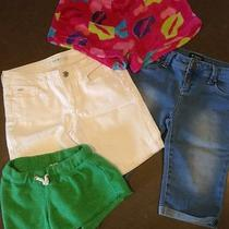 Girls Shorts Boutique Lot Sz 12-14 Joe's Tractor Vintage Havana Girl Junk 4pr Photo