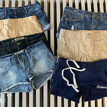 Girls Shorts Lot Aeropostle Gap Kids Mossimo American Eagle Misc Photo