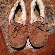 Girls Size 1 Ugg Moccasins Photo