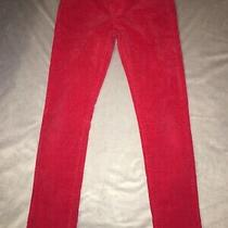 Girls Size 10 Red Gap Kids Skinny Jeans  Photo