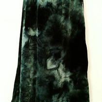 Girls Size 14 - Christie Brooks - Dark Green Tie Dye Long Skirt Photo