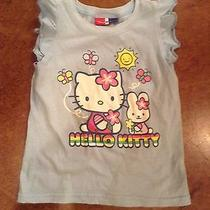 Girls Size 3 Hello Kitty Baby Gap Junk Food Blue Tshirt  Photo