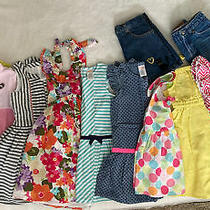 Girls Size 4 13-Piece Lot Gymboree Gap Crazy 8 Dresses Skirts Pants Photo