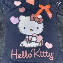 Girls Size 4 Asymetric Hello Kitty Tee Photo