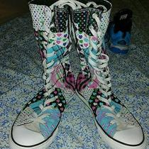 Girls Size 4 Converse Tall Sneakers Photo
