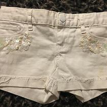 Girls Size 6 Gap Sequin Pocket Shorts Photo