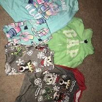 Girls Size 8 Pajama Lot and Sweatshirt Justice & Gap Photo