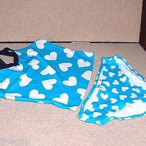 Girls Size X Small ( 5 ) Old Navy  Swimsuit Big and Little Hearts   Nwt Photo