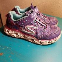Girls Skechers Size 4 S Lights Shoe Photo