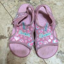 Girls Skechers Summer Sandals Great for Summer Water Vgc 13 Photo