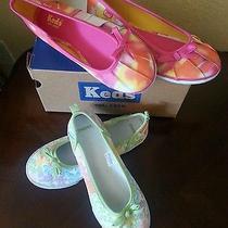 Girls Slip on Shoes Size 2 Keds and Gymboree Like New Photo