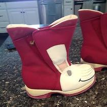 Girls Snow Boots Photo