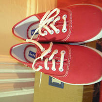 Girls Solid Red Lant Keds New in Box Photo