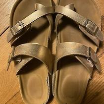 Girls Steve Madden J Beach Sandals Rose Gold Size 2 Photo