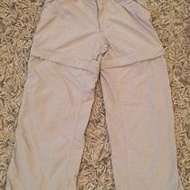 Girls the North Face Xs 6 Shorts Pants Tan Outdoor Convertible Photo