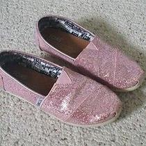 Girls Toms Youth Size 1 Photo