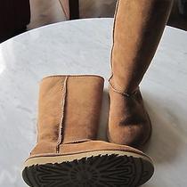 Girls Ugg Australia 'Classic Tall' Boots.  Like New. Size 1.  Photo