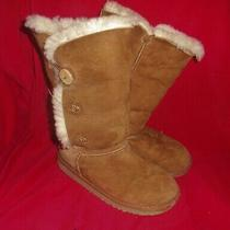 Girls Ugg Brown Boots Size 13 Photo