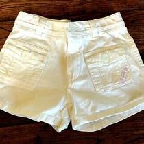 Girls White Shorts Size 5t Baby Gap Photo
