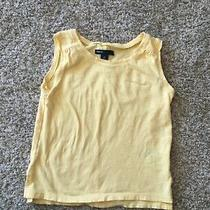 Girls Yellow Gap Short Sleeve Top Size 6-7 Photo
