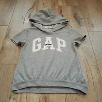 Girls Youth Gap Shirt/hoodie Gray Size 8 Photo