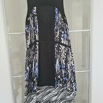 Girs/ladies Armani Exchange Fantastic Dress Size Xs Black Blue and Grey. Photo