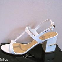 Giuseppe Zanotti Design White Wedding Strappy Sandals Shoes 40 10 Photo