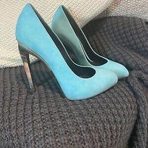 Giuseppe Zanotti Eu 36 Au 6 High Heels Pumps Soft Blue Near-New Photo