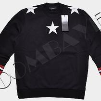 Givenchy 100% Auth Black Stars & Stripes Colombian Fit Sweater Ss2014 Photo