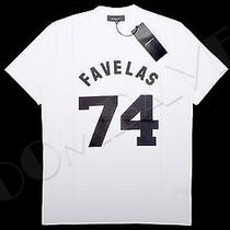 Givenchy 100% Auth White Cuban Fit Favela 74 Print Tshirt Photo
