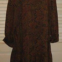 Givenchy 20/42 Paisley Dress Vintage Photo